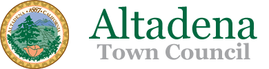 Altadena Town Council Proudly Serving Our Community