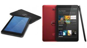 Dell vuelve a la competencia con cuatro modelos de tabletas