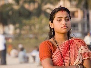 Mujer-en-India