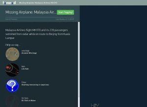 Ya podemos ayudar a encontrar entre todos el avión desaparecido de Malaysia Airlines