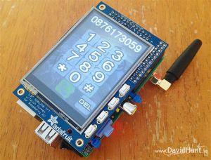 PiPhone es un teléfono móvil basado en la Raspberry Pi
