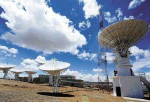 antenas servicio comunicacion satelital