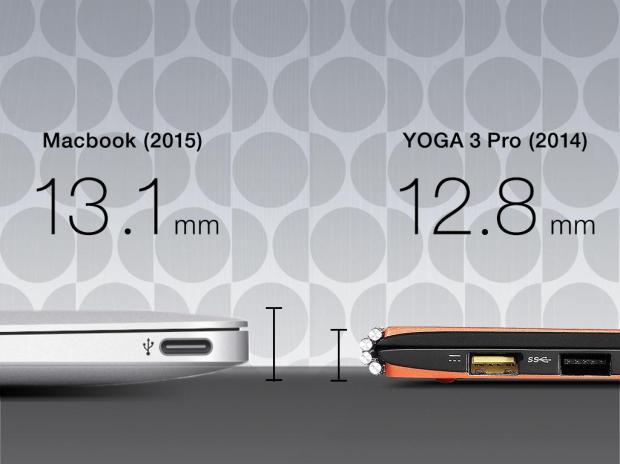 MacBook Vs Yoga 3 Pro