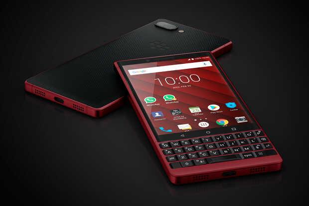 BlackBerry Key2 rojo