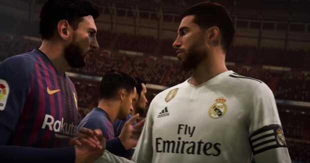 La mejor alineación de la Liga que podrías tener en FIFA 19