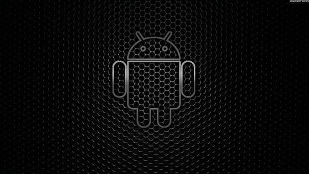 Android fondo negro