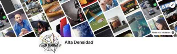 Pinterest - Alta Densidad