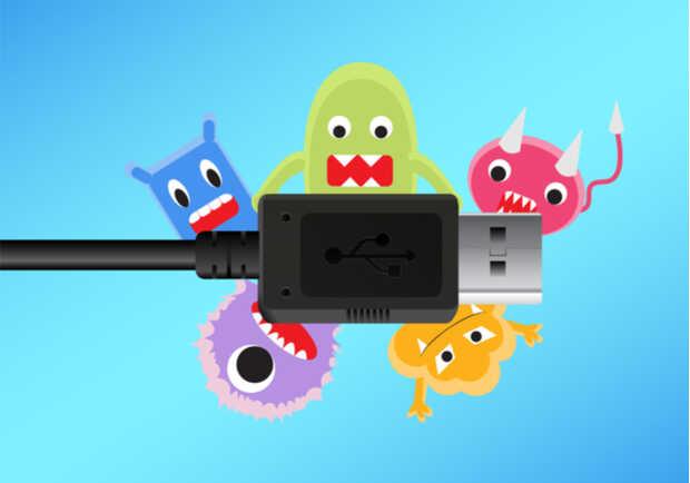 """Cable USB """"envenenado"""" sirve para instalar malware y controlar computadoras a distancia"""