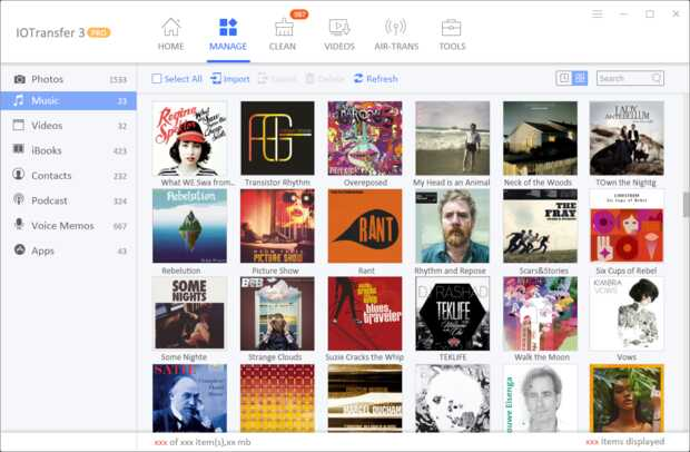 IOTransfer 3: Genial sustituto de iTunes para PC con útiles extras gratis
