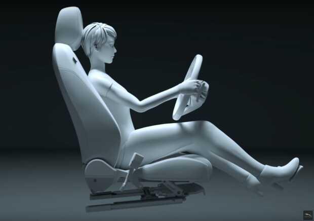 Esta es la posición correcta al manejar según Jaguar