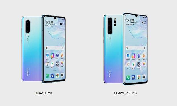 Huawei presentó sus nuevos móviles tope de línea P30 y P30 Pro. Según el fabricante chino el P30 no es un teléfono, es una súper cámara con teléfono.