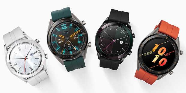 Especificaciones y precio de los Huawei Watch GT Active y Elegant