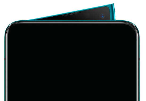 Smartphone tope de línea con cámara retráctil tipo aleta de tiburón