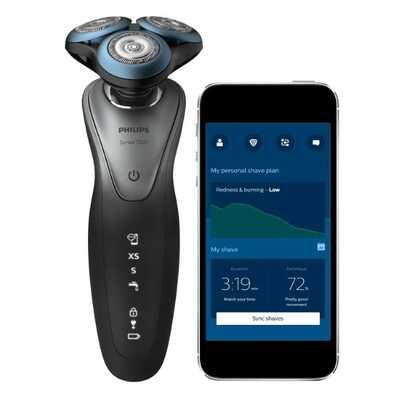 Philips lanza primera afeitadora con inteligencia artificial