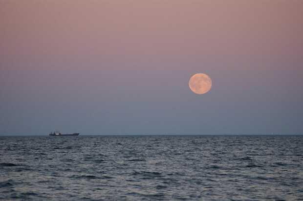 La Luna Rosada de abril podrá verse este viernes