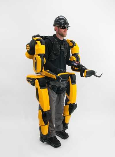 Robot XO Max de la empresa Sarcos es un exoesqueleto enfocado aliviar el esfuerzo físico de sus trabajadores