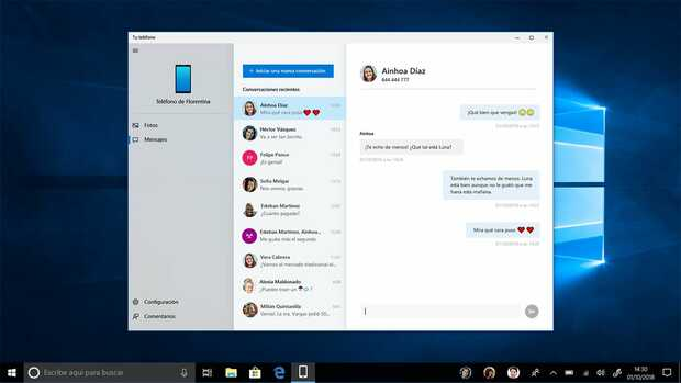 Microsoft actualiza la aplicación Tu Teléfono y ahora gestiona mensajes de teléfonos DUAL SIM  App gratis de Microsoft mejora la unión entre la PC y el móvil
