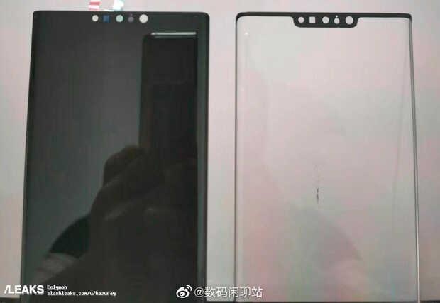 """Tienes que ver todas las perforaciones del """"notch avanzado"""" en el Huawei Mate 30 Pro"""