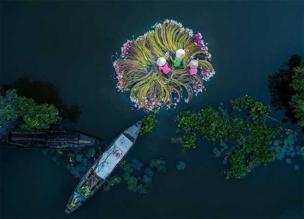 Todas las fotos espectaculares tomadas desde drones ganadoras del Drone Awards 2019