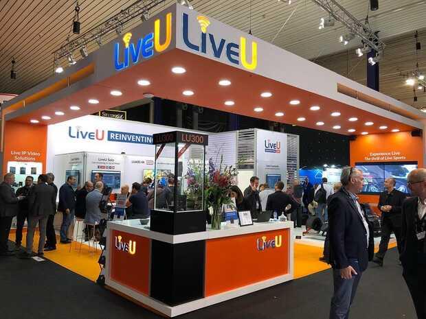 Inteligencia Artificial y 5G de LiveU en la International Broadcasting Convention