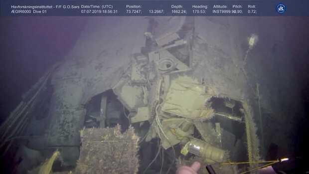 Submarino nuclear de la guerra fría está filtrando radiación en el fondo del mar