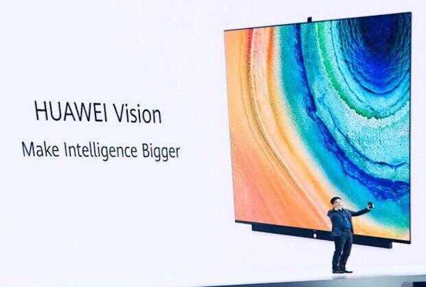 Primera smart TV de Huawei funciona como un smartphone gigante