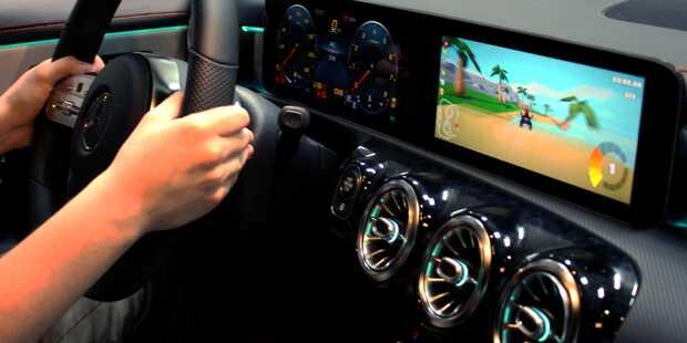 In-Car Gaming: Los pilotos también quieren divertirse