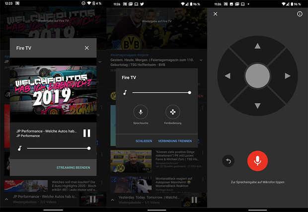 YouTube para Android agrega control remoto de TV con búsqueda por voz