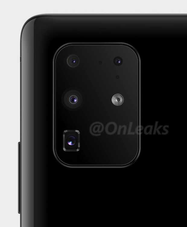 Nuevo render del Galaxy S11+ muestra un diseño de cámara trasera más normal