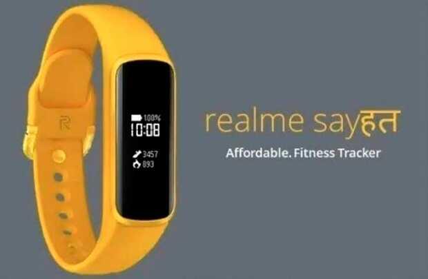 Aparece en línea primera imagen de la banda fitness Sayshat de Realme