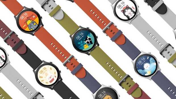 Xiaomi Mi Watch Color un smartwatch colorido y circular para jóvenes