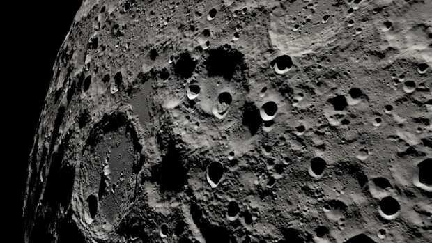 Apollo 13: NASA recrea impresionantes imágenes de la cara oculta la Luna