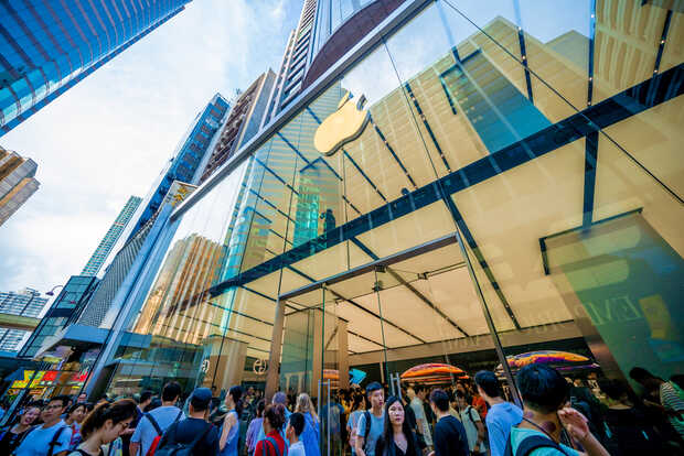 Coronavirus: Apple cierra todas las tiendas en China