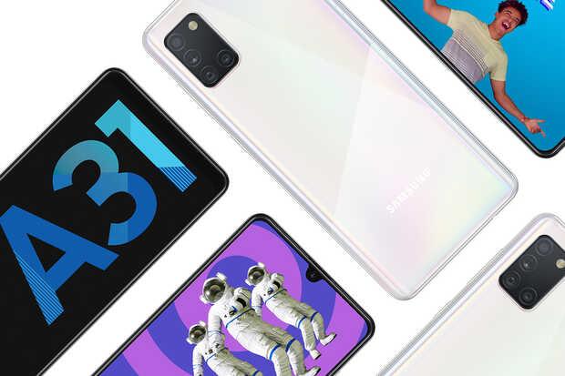 Nuevo Samsung Galaxy A31 con cámara cuádruple de 48MP y batería de 5.000mAh