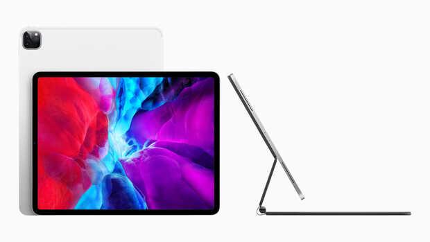 Nuevo iPad Pro con doble cámara trasera y un teclado con trackpad