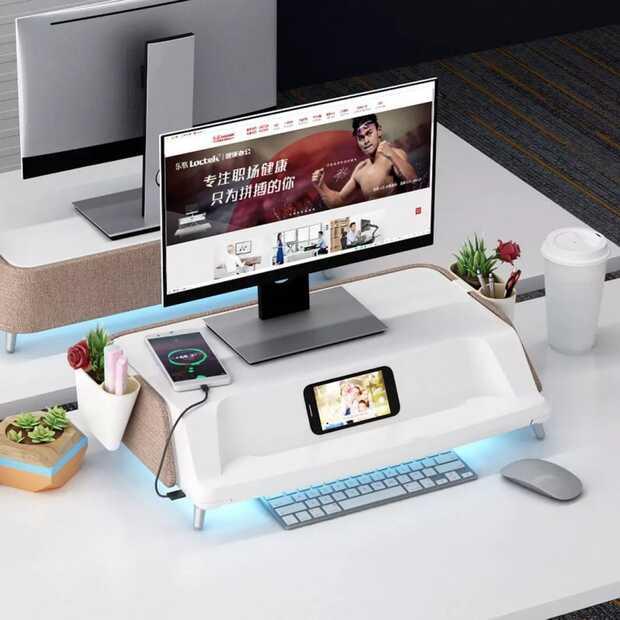 Xiaomi lanza base de escritorio para monitor con lámpara de esterilización