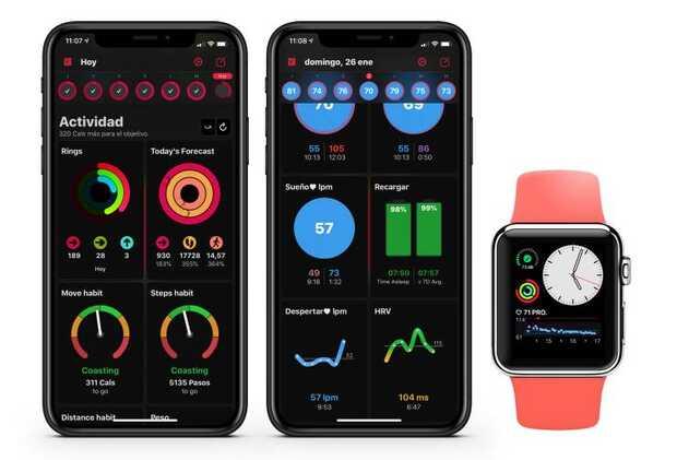 HeartWatch se actualiza con interfaz rediseñada y nuevas métricas