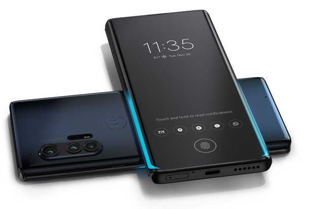 Nuevos Motorola Edge y Edge+ conpantallas curvas de 90 Hz y gran batería