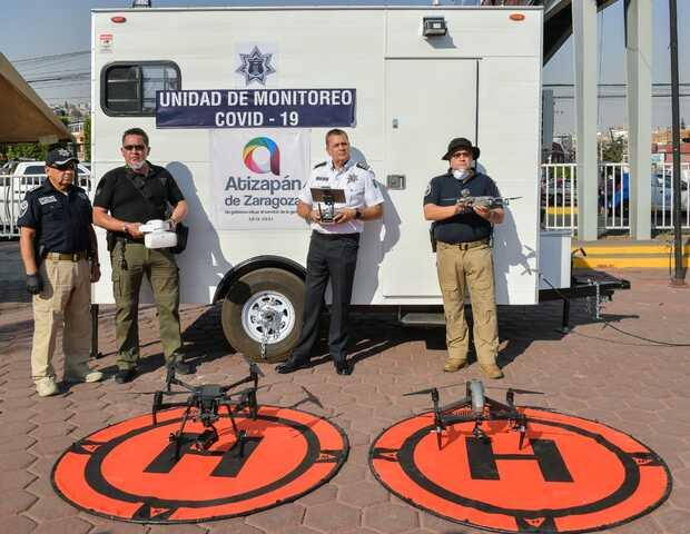 Usan drones en la lucha contra el COVID-19 en Latinoamérica