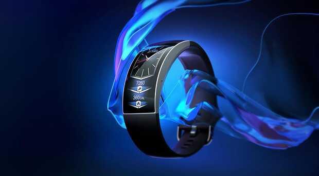 Smartwatch del futuro con pantalla curva y 7 días de autonomía