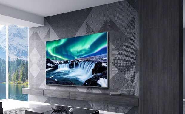Nuevo TV Xiaomi Mi Full Screen TV Pro de 75 pulgadas consoporte 8K