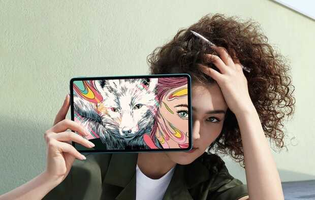 TabletHonor V6 5G con lápiz sensible especial para artistas