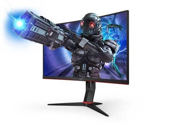 AOC lanza 5 monitores para gaming con frecuencia de actualización de 240 Hz