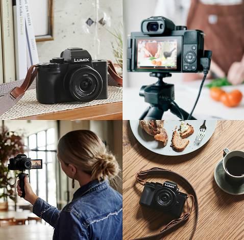 Cámaras para vloggers: Panasonic Lumix G100