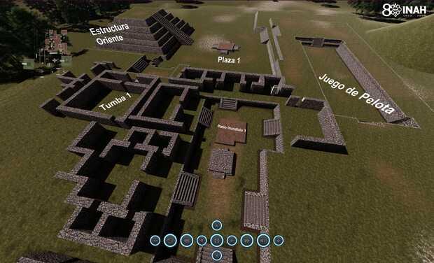 Descubrimientos arqueológicos milenarios con ayuda de los drones - Recorrido virtual Tingambato