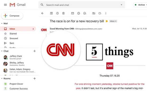 Gmail verificará la identidad de las empresas para luchar contra los correos maliciosos