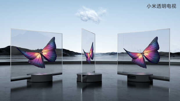 Televisor transparente: Xiaomi presenta Mi TV LUX Transparent Edition