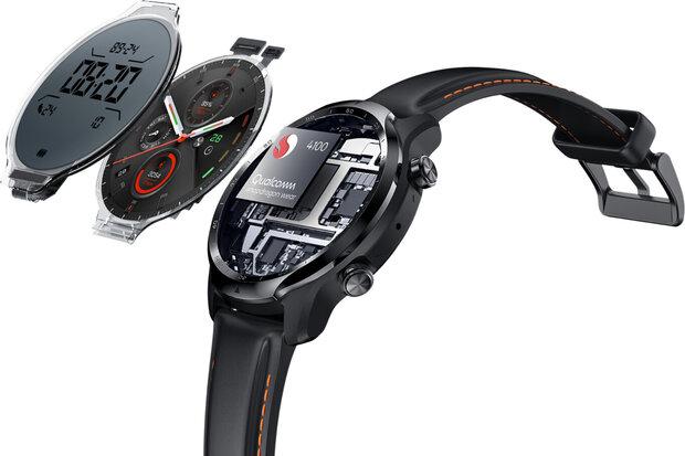 Reloj inteligente Mobvoi con Wear OS estrena chip Snapdragon 4100