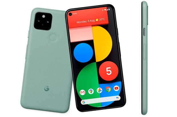 Pixel 5: primer móvil con marcos simétricos y con Android 11