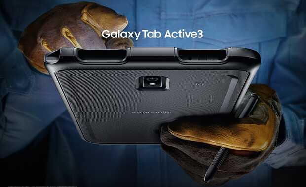 Nueva tablet inteligente  todoterreno Samsung con batería reemplazable